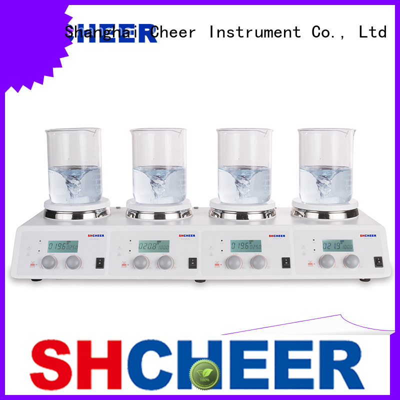 Cheer digital magnetic hotplate stirrer machine biochemistry