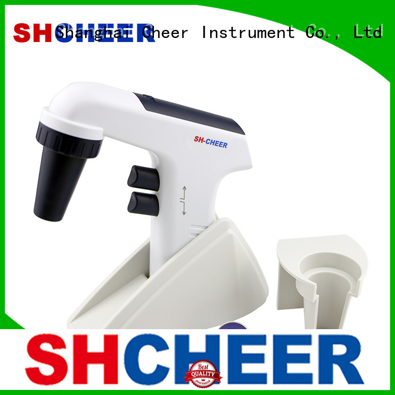 Cheer automatic motorized pipette filler machine medical industry