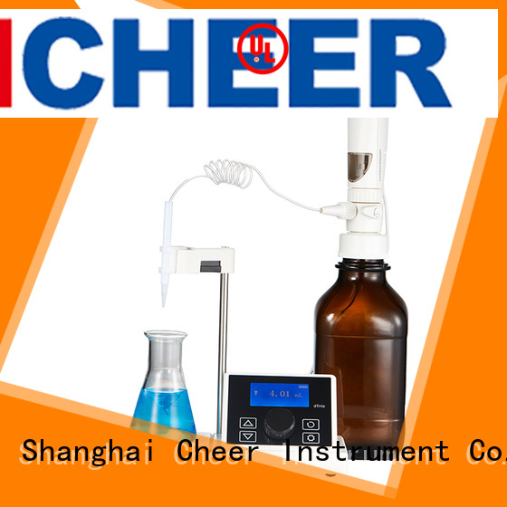 Cheer best digital titrator supplier clinical diagnostics