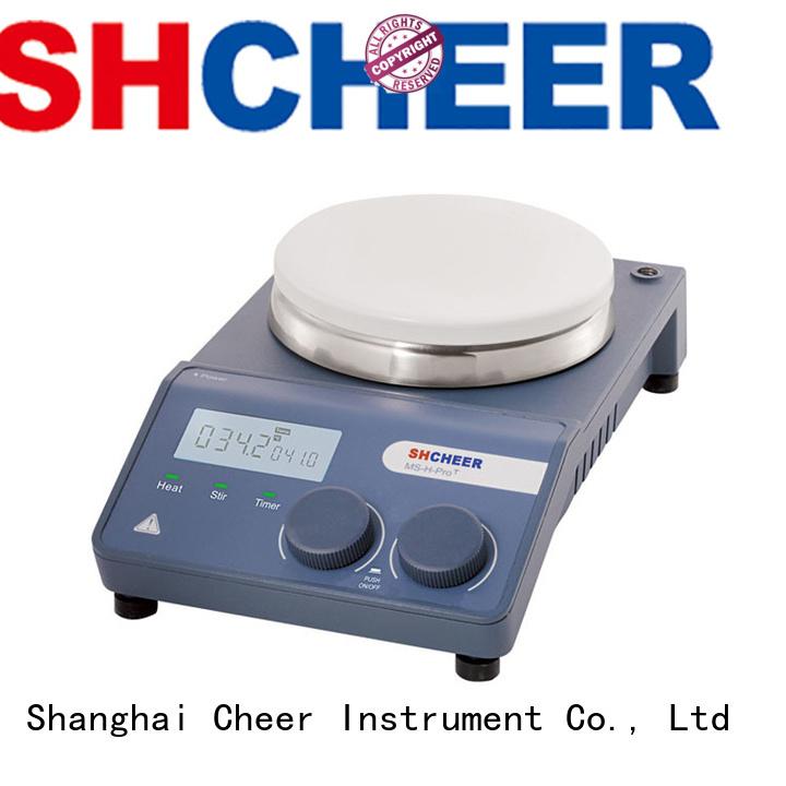 Cheer hotplate stirrer equipment in laboratory