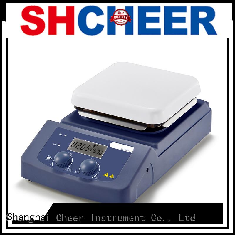 Cheer precise temperature hot plate supplier biochemistry