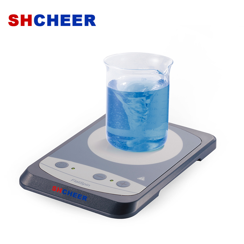 Ultra-Flat Chemical Stirrer Compact Design Ultra Silence And Vibration-Free FlatSpin