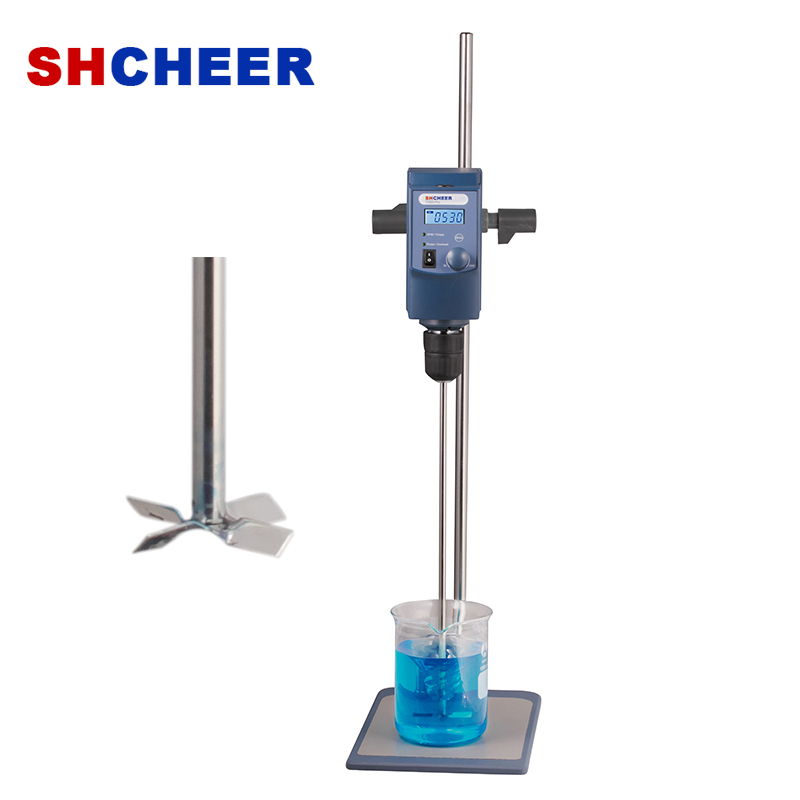 Digital Overhead Stirrer With LCD Display RS232 Connector Speed From 50 To 2200rpm OS20-Pro OS40-Pro