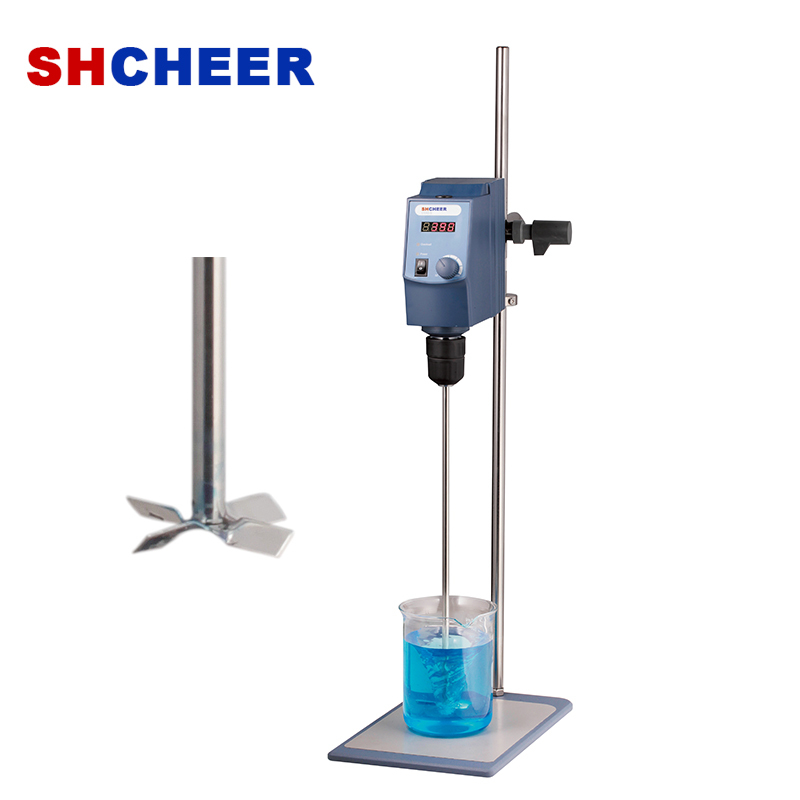 Electric Overhead Stirrer With LED Display Brushless DC Motor OS20-S/ OS40-S