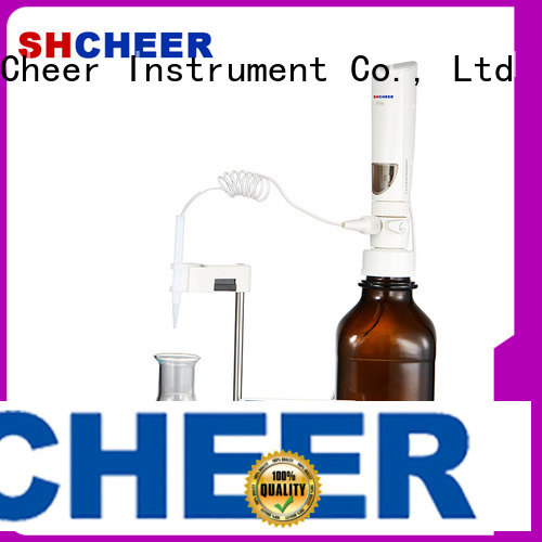 Cheer motorized digital titrator equipment biochemistry