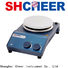 Cheer magnetic hot plate stirrer function products in laboratory