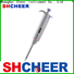 Cheer single channel electronic pipette machine for lab instrument