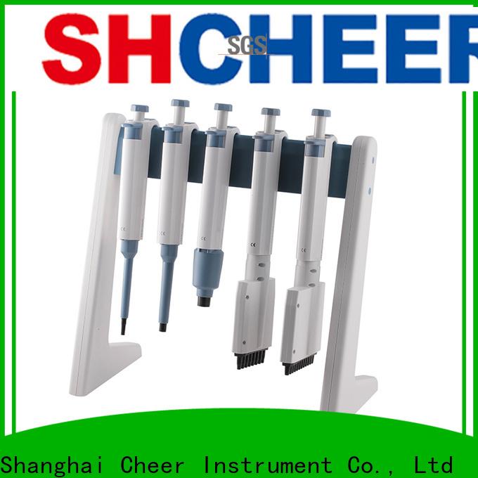 Cheer micro pipette pump in laboratory