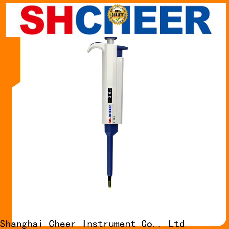 Cheer electric fixed pipette products for lab instrument