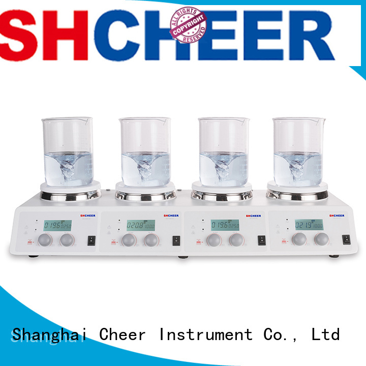 Cheer magnetic hotplate stirrer products medical industry