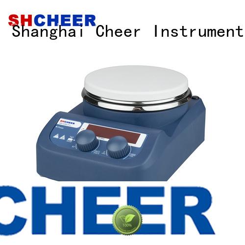 Cheer adjustable magnetic hotplate stirrer supplier biochemistry