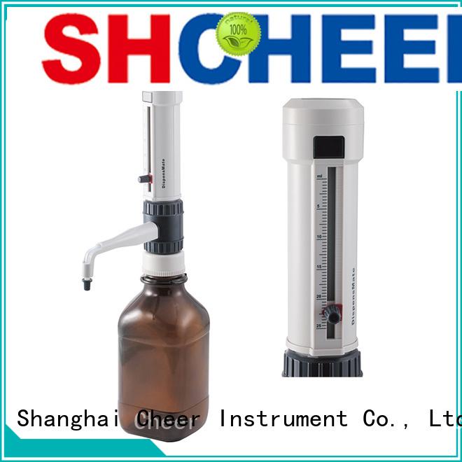 Cheer bottle top pipette dispenser supplier biochemistry