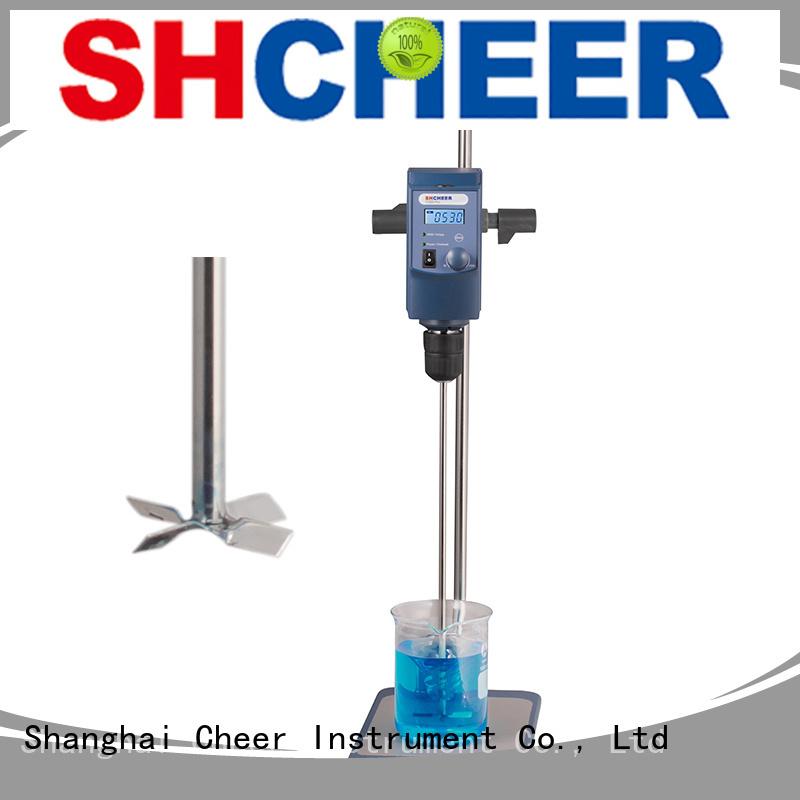 electric laboratory overhead stirrer equipment in laboratory