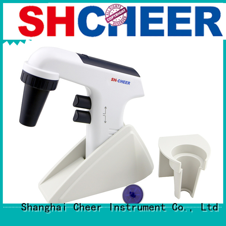 Cheer digital electronic pipette filler for lab instrument