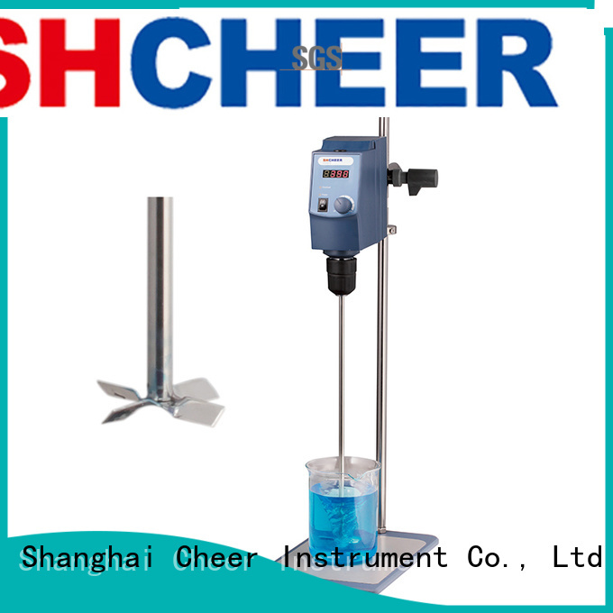 Cheer digital overhead stirrer machine hospital