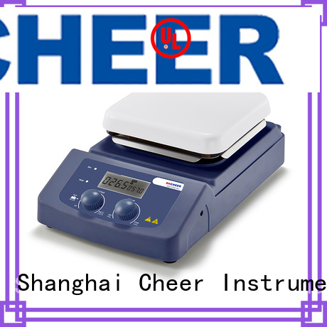 Cheer adjustable magnetic hotplate stirrer supplier hospital