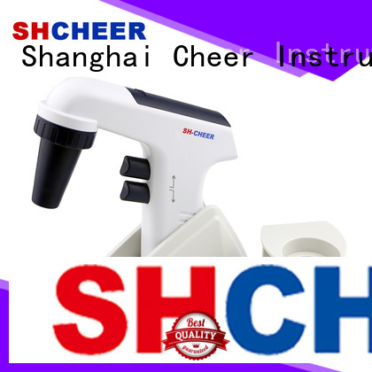 Cheer digital pipette and pipette filler biochemistry