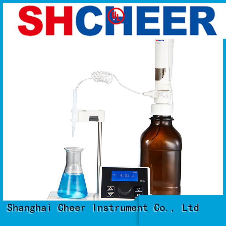 Cheer digital auto titrator supplier for lab instrument