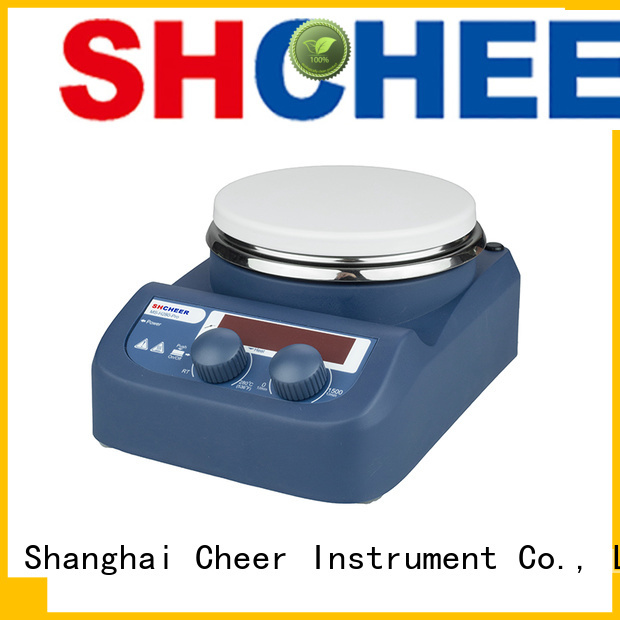Cheer adjustable hotplate stirrer products in laboratory