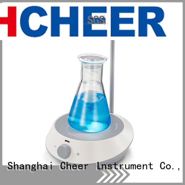 chemical digital stirrer equipment in laboratory