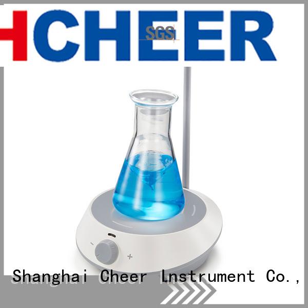 chemical digital stirrer equipment in laboratory