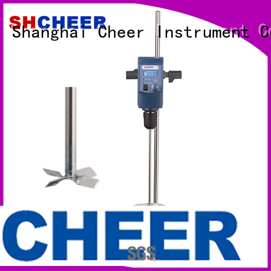 Cheer electric laboratory overhead stirrer supplier medical industry