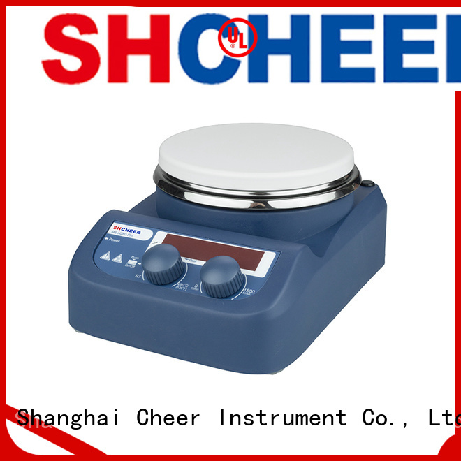 Cheer adjustable magnetic hotplate stirrer machine clinical diagnostics