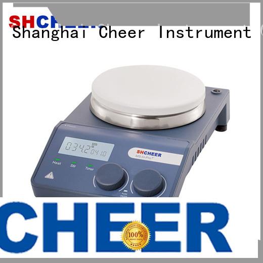 Cheer adjustable best hot plate stirrer supplier hospital