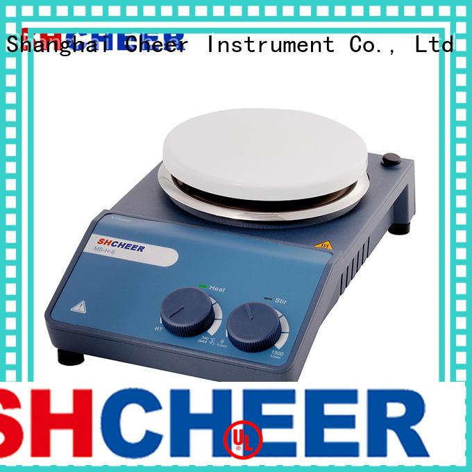 Cheer adjustable digital hotplate stirrer machine biochemistry