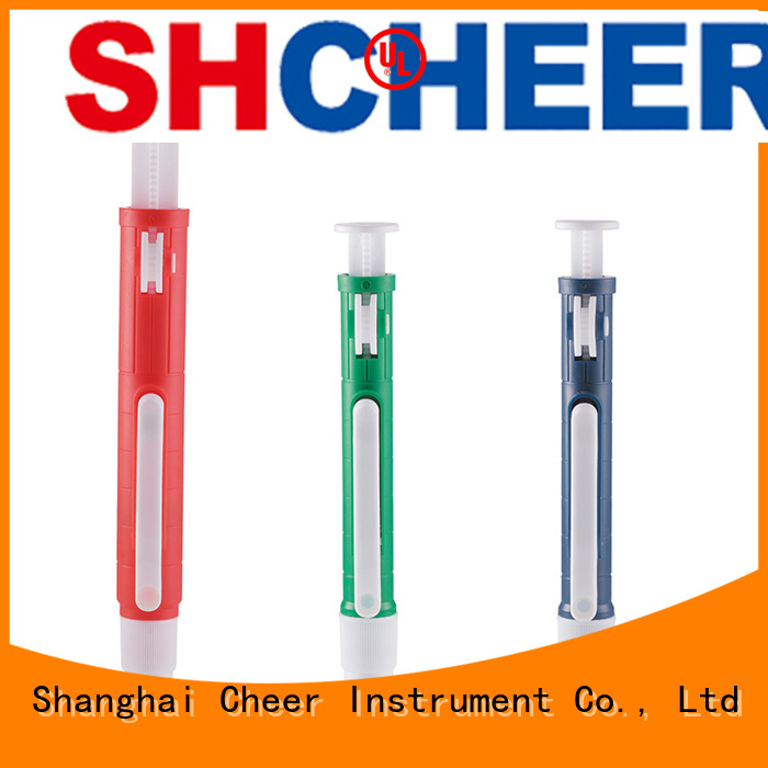 Cheer pipette dispenser pump products medical industry