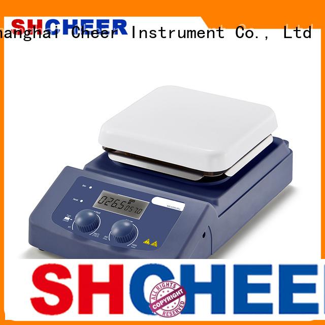 adjustable 4 burner hot plate machine for lab instrument