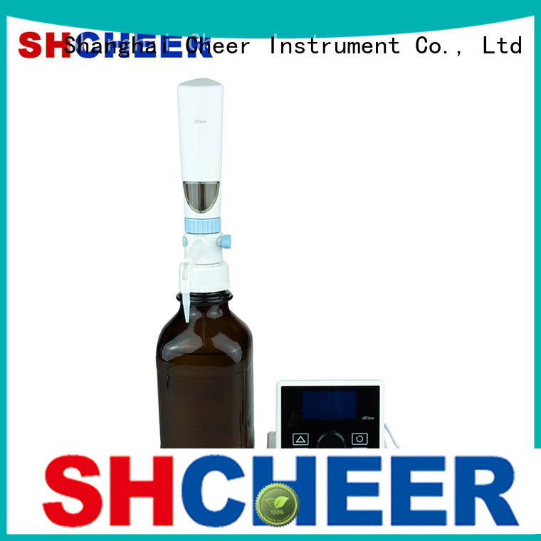 Cheer digital titrator products in laboratory