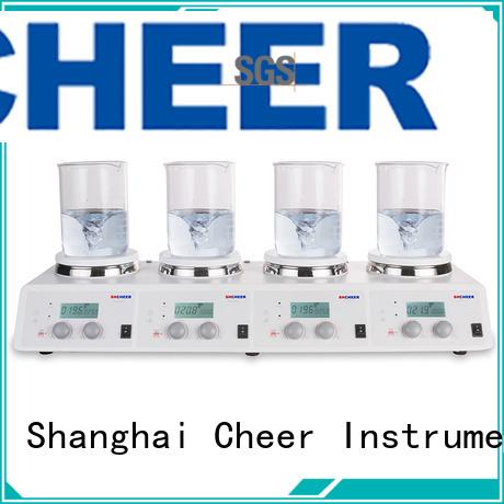 Cheer adjustable best hot plate stirrer machine On Biomedicine