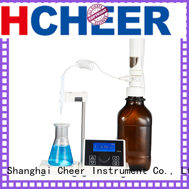 Cheer best digital titrator machine On Biomedicine