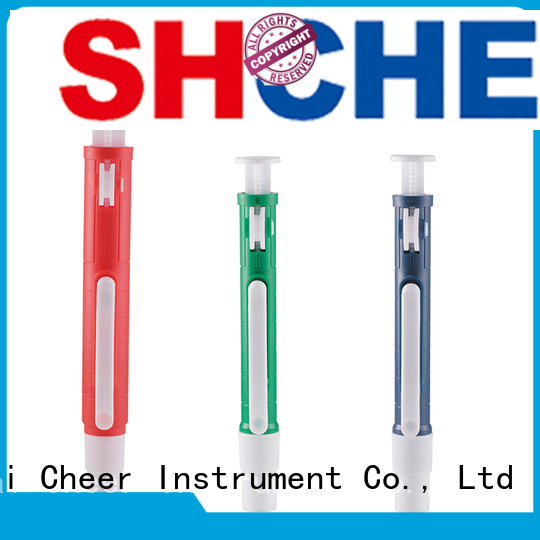 adjustable pipettors thumb supplier in laboratory Cheer