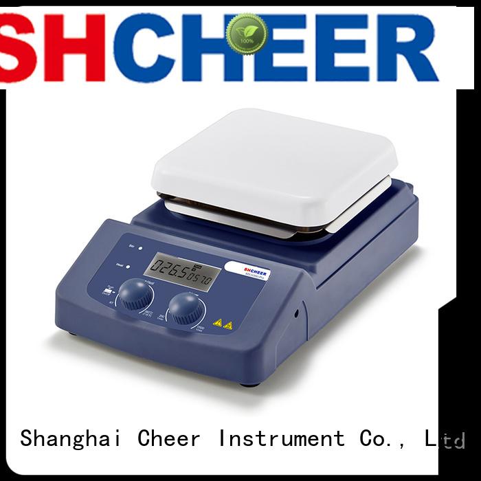 adjustable digital hotplate stirrer machine for lab instrument