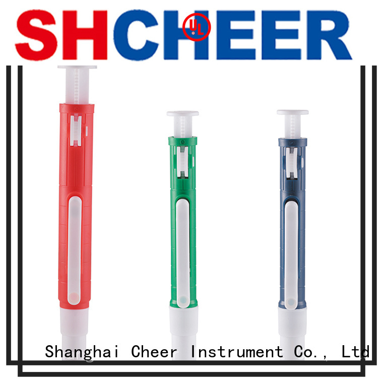Cheer pipette dispenser pump equipment clinical diagnostics