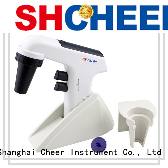 Cheer pipette filler function for lab instrument