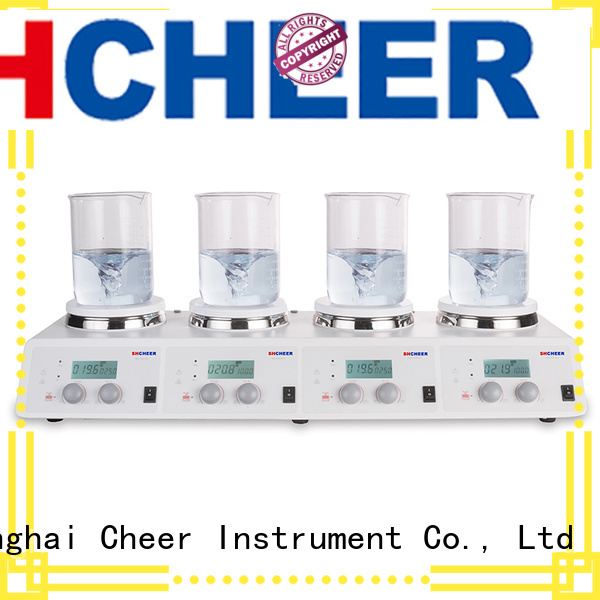Cheer digital hotplate stirrer products medical industry