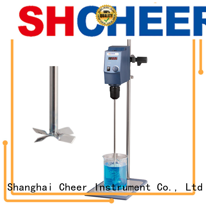 electric laboratory overhead stirrer supplier for lab instrument