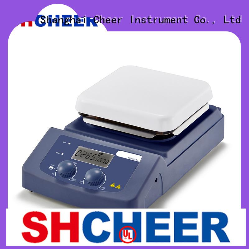 Cheer professional precise temperature hot plate equipment biochemistry