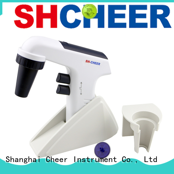Cheer digital pipette dispenser supplier biochemistry
