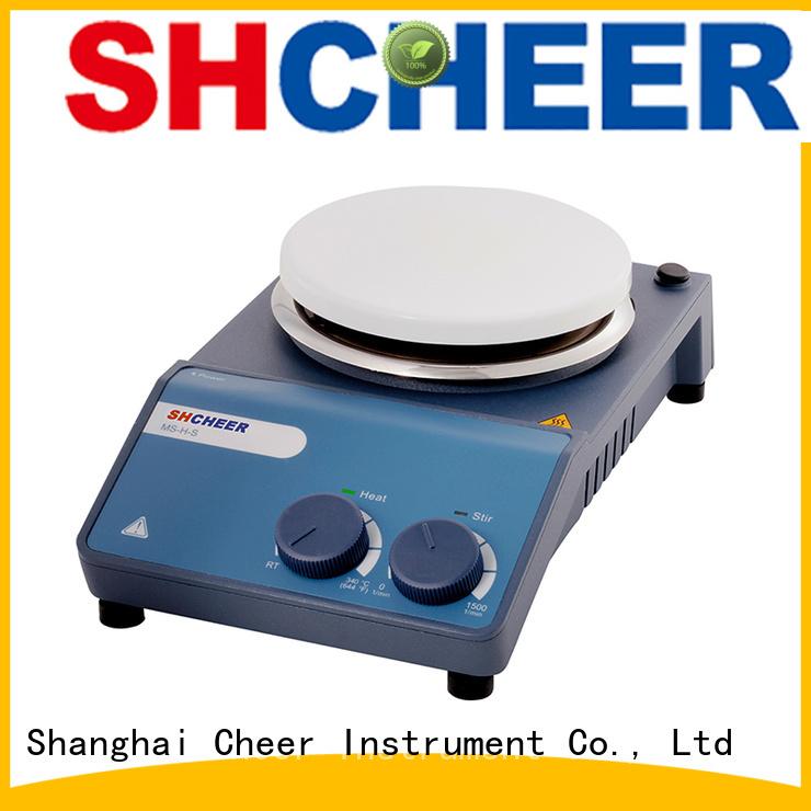 adjustable best hot plate stirrer supplier biochemistry