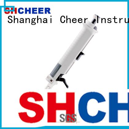 Cheer syringe pipette equipment biochemistry