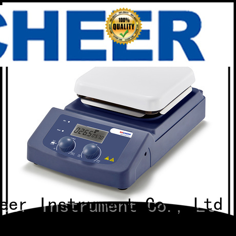 Cheer digital magnetic hotplate stirrer products in laboratory