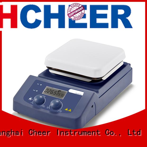 adjustable stirrer magnetic hot plate supplier medical industry