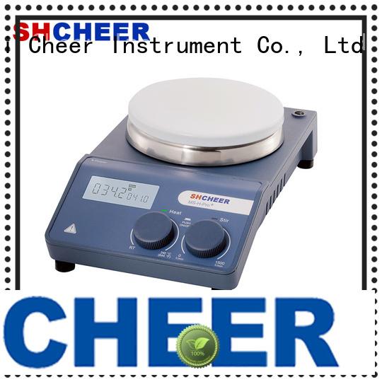 Cheer magnetic digital hotplate stirrer machine in laboratory