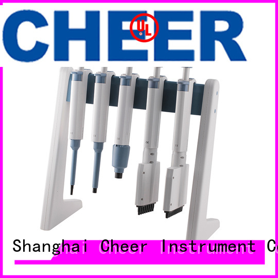 Cheer electric linear pipette stand equipment in laboratory
