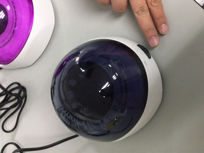 Micro palm mini centrifuge D1008 Running, vibration free and quiet operation