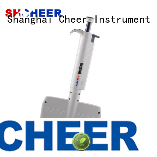 Cheer digital best multichannel pipette supplier hospital